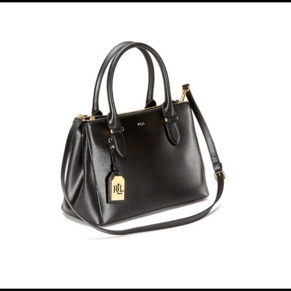 Ralph Lauren Women s Newbury Double Zipper Bag. M 5aa576646bf5a60bdcc153b0 3ee50da7d1